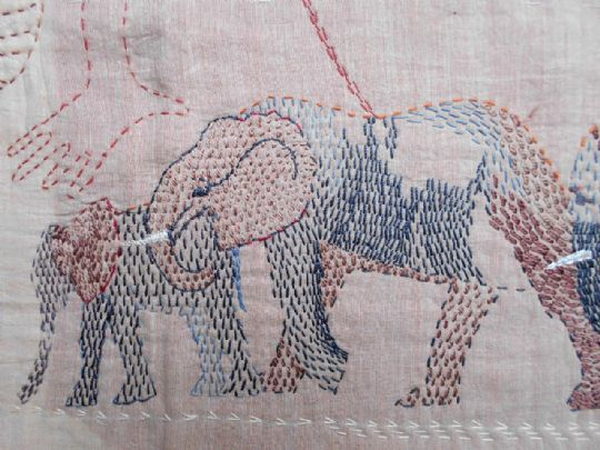 Kantha: Animals, Fish and Birds